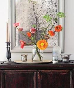 флористическое украшение интерьера