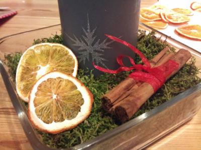 Новогодние украшения с корицей, флористика и дизайн с Эми Emifloradesign