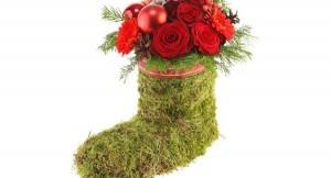 пошаговые фото - рождественское украшение своими руками